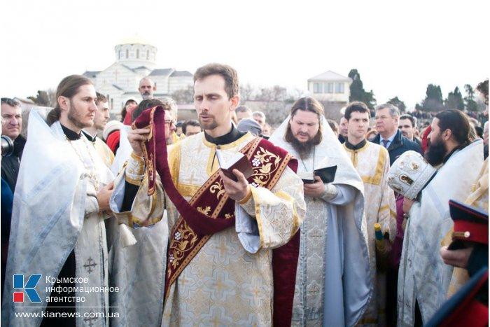 В Севастополе отметили Крещение