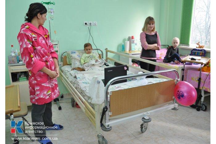 Детской больнице в Крыму передали лекарства, приобретенные за благотворительные средства