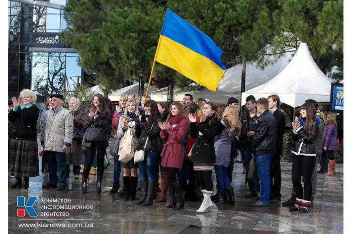 Ялтинцы объединились в живую цепь