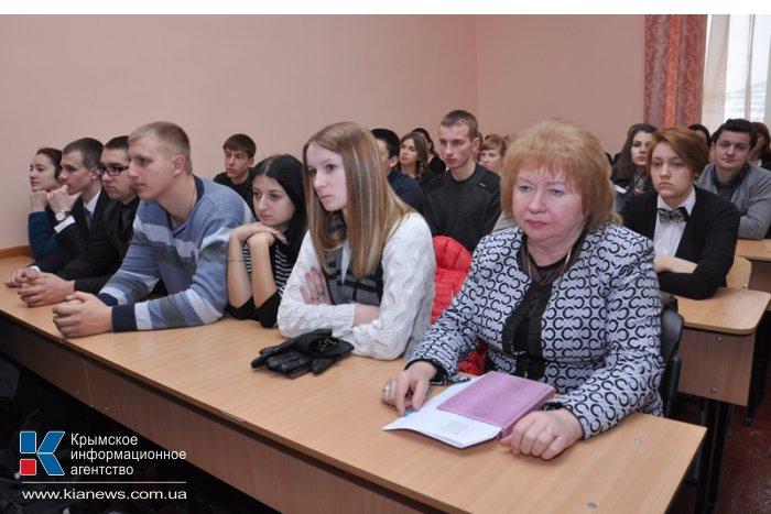 Члены Президиума Верховной Рады АРК пообщались с крымскими студентами-юристами