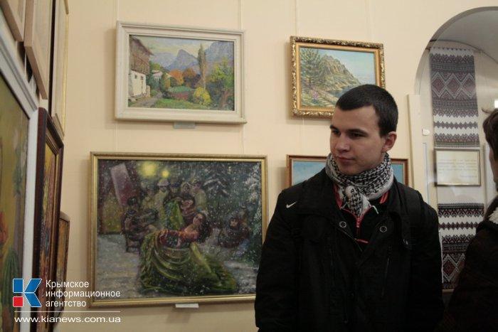 В Симферополе открылась выставка памяти крымского искусствоведа Рудольфа Подуфалого