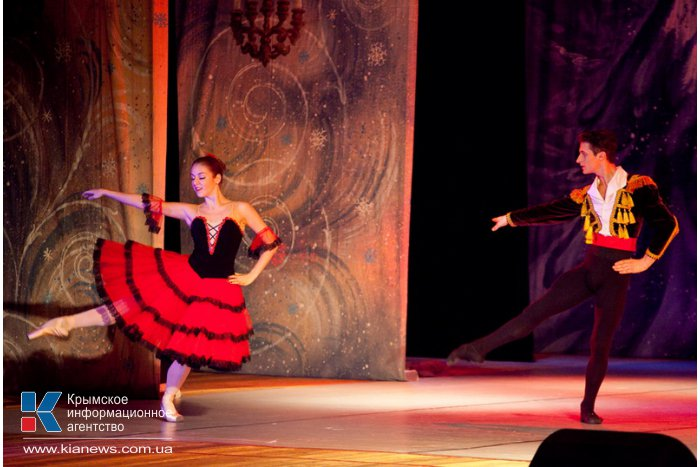 В Севастополе представили балет «Щелкунчик»