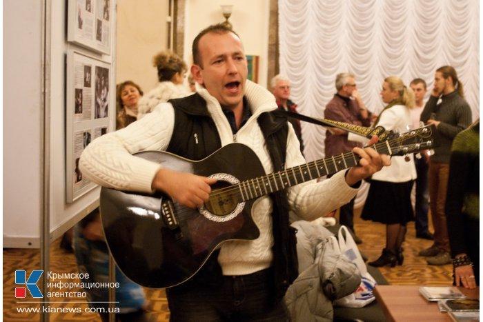 В Севастополе провели концерт памяти Высоцкого