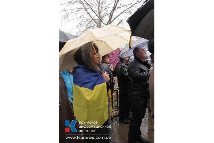 Крымские татары провели митинг в Симферополе