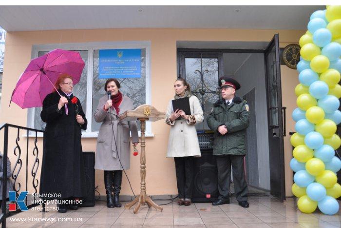 При исправительной колонии в Симферополе открылась лавка сувениров