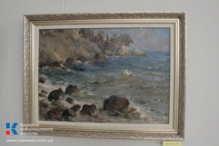 В Симферополе открылась выставка памяти крымского художника