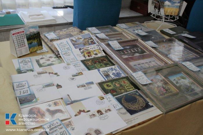 В Симферополе провели спецгашение конверта к 100-летию крымского художника