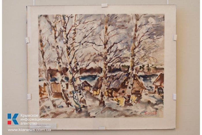 В Севастополе открылась выставка Якова Басова