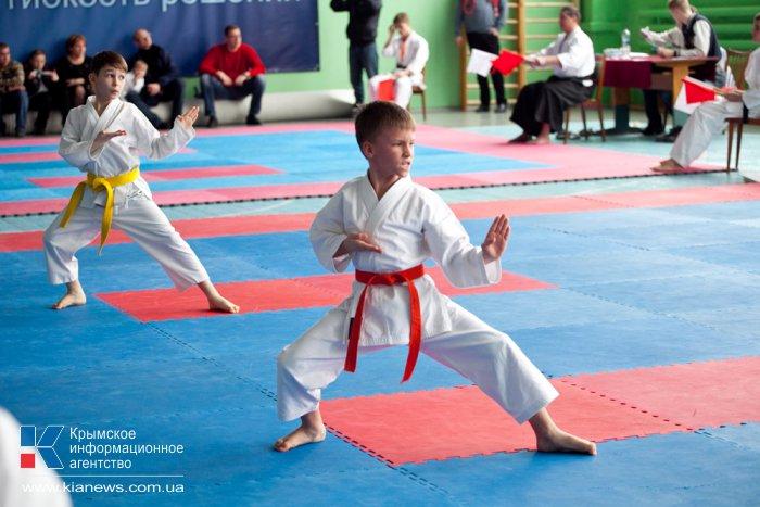 В Севастополе прошел чемпионат по каратэ-до