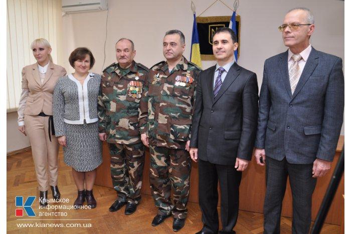 В Крыму к памятной дате афганцам выдали материальную помощь