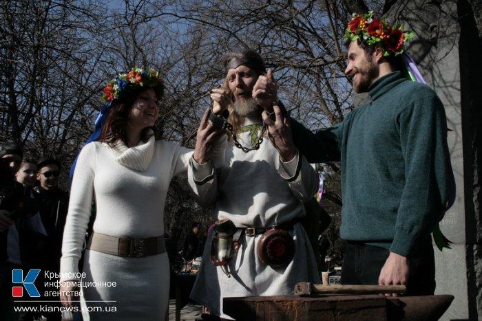 В Симферополе кузнецы устроили День стального Валентина