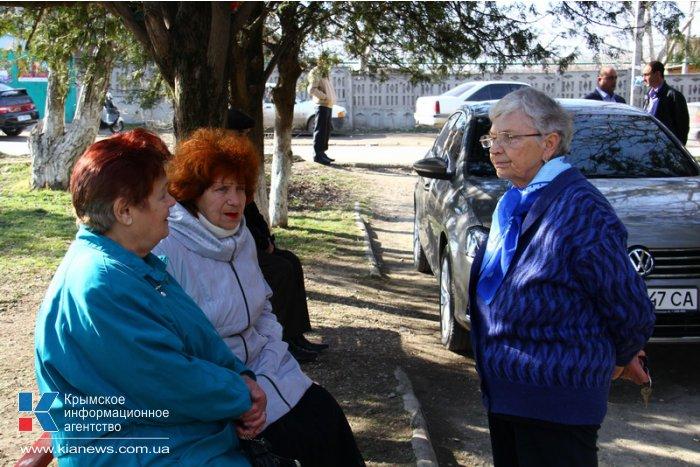 Симферопольскую Каменку пообещали полностью газифицировать до конца года