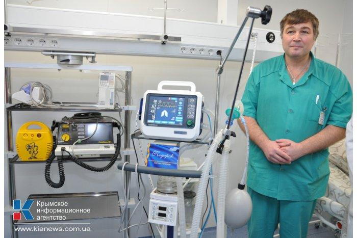 Перинатальный центр Крыма получил наркозно-дыхательный аппарат