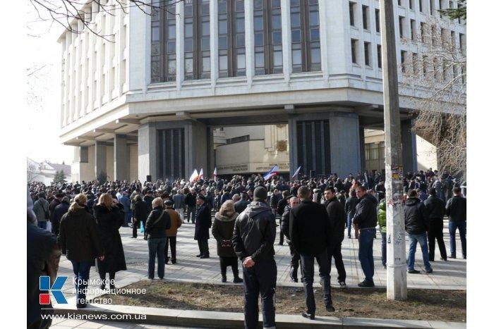 В Крыму начали формировать отряды самообороны
