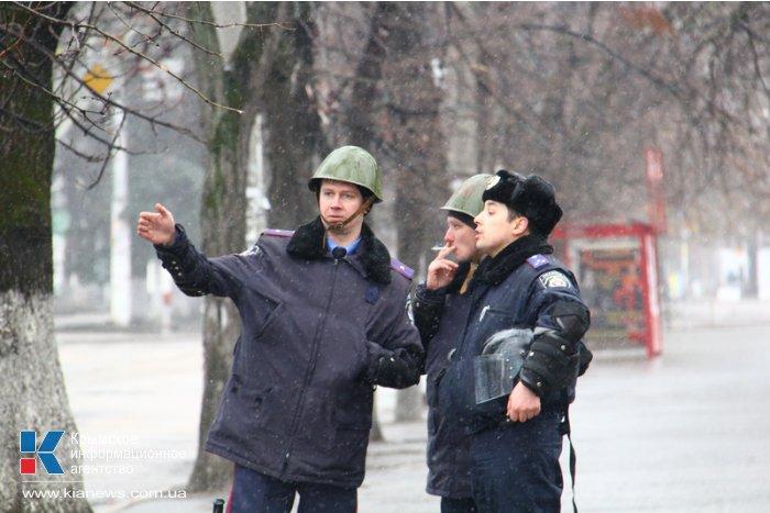 В Симферополе перекрыли центральные улицы