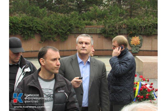 В Симферополе приняло присягу первое подразделение Вооруженных сил Крыма