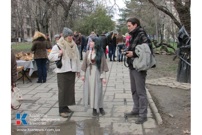 В Симферополе кузнецы провели фестиваль в честь 8 марта