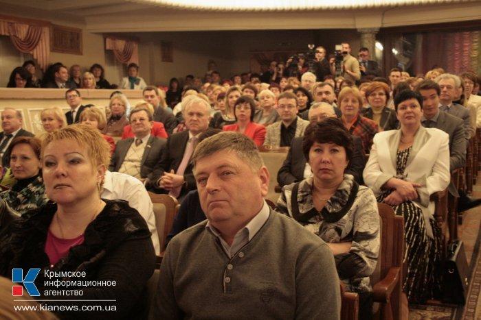 В Симферополе подвели итоги конкурса «Учитель года – 2014»