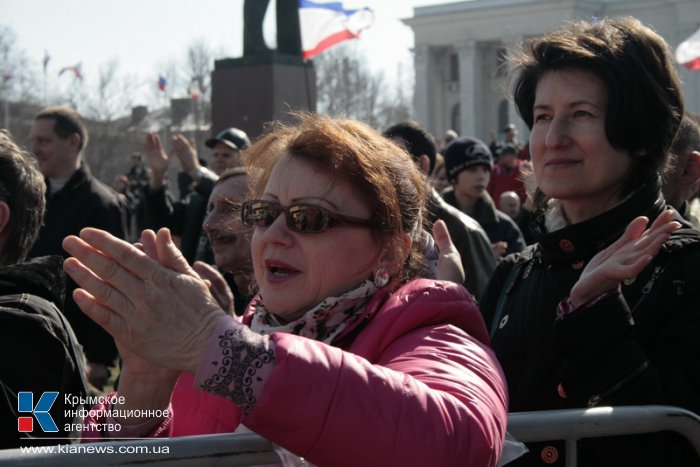 В Симферополе проходит фестиваль «Крымская весна»