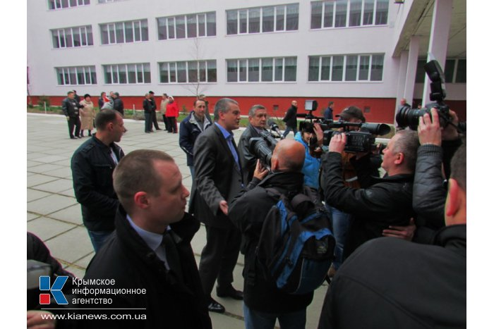Премьер Крыма проголосовал на референдуме
