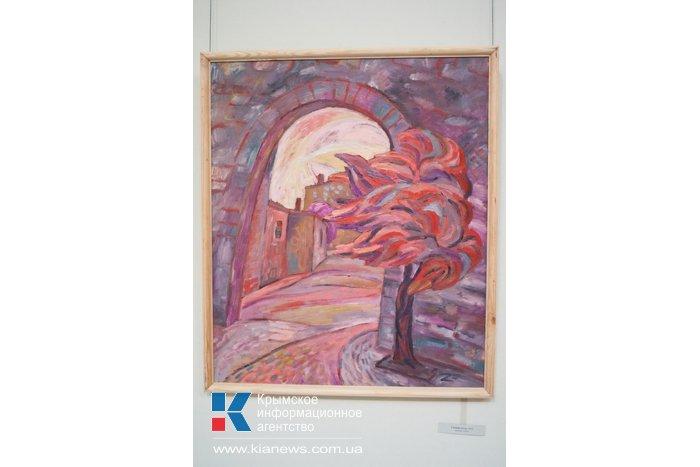 В Севастополе открылась персональная выставка молодой художницы