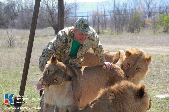 В сафари-парке «Тайган» отпраздновали воссоединение Крыма с Россией