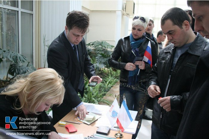 В Крыму создали организацию участников самообороны Крыма