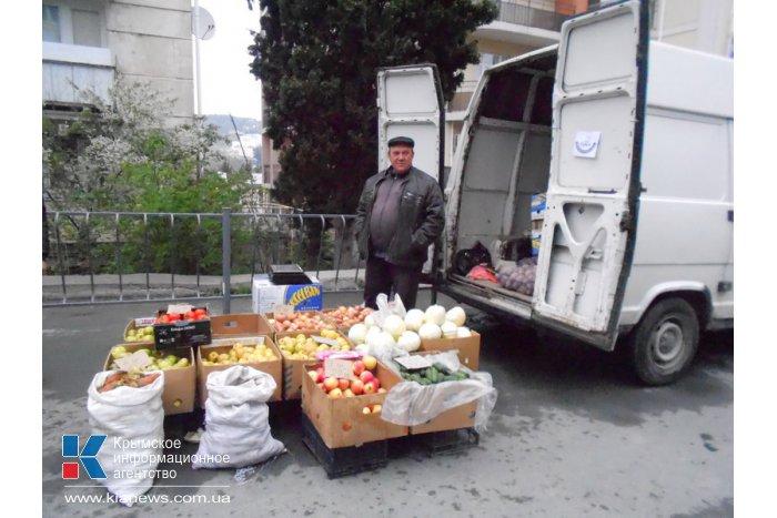 В алуштинской ярмарке впервые поучаствовали российские предприниматели