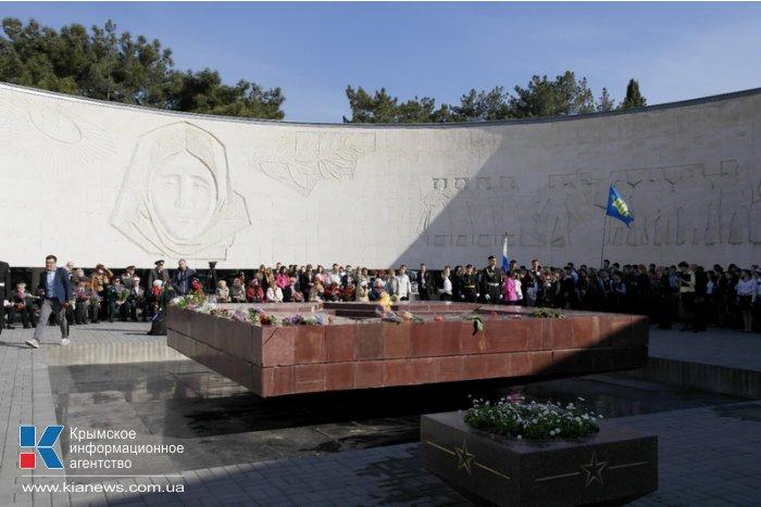 В Ялте отметили 70-ю годовщину освобождения города