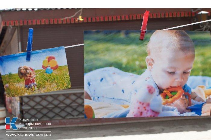 В Севастополе устроили фотосушку «Дети – цветы жизни»