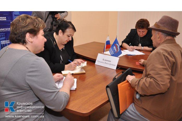 В Симферополе открылась общественная приемная Медведева