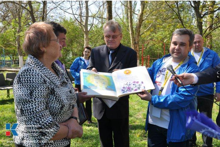 В Крым из Читы прибыла гуманитарная помощь для детских домов