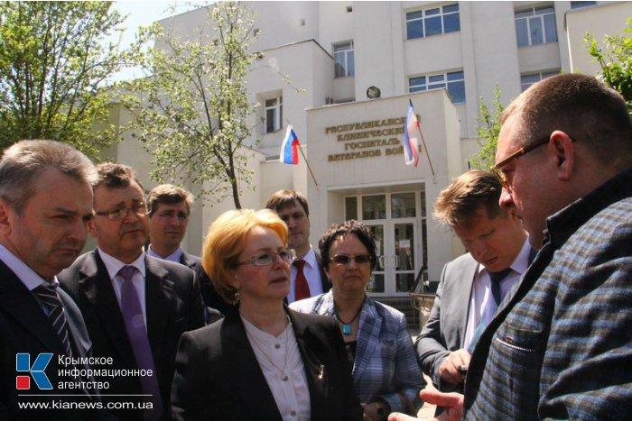В Крым с рабочим визитом прибыла министр здравоохранения РФ