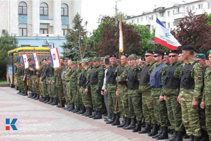 В Симферополе почтили память погибших на Украине