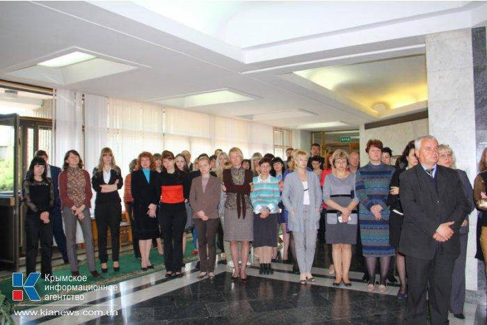 В крымском парламенте почтили память погибших одесситов