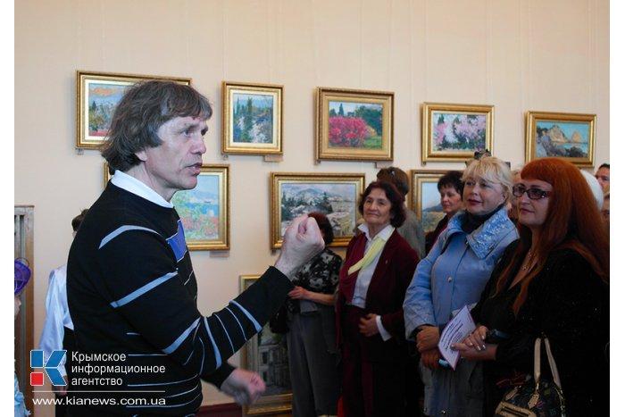 В Ялте отметили праздник глицинии