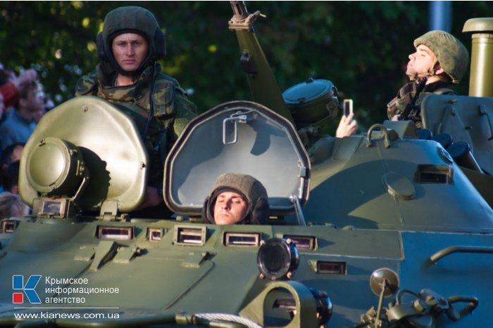 В Севастополе состоялась репетиция парада Победы