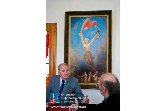 В Севастополе открылась выставка ко Дню Победы