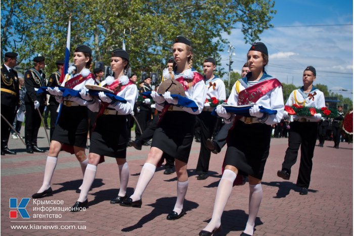 В Севастополе провели мемориальный час