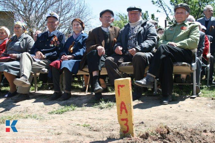 В село Перевальное Симферопольского района пустили газ