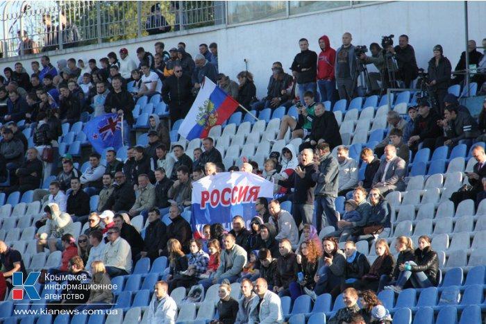 В Симферополе разыграли российский суперкубок по регби