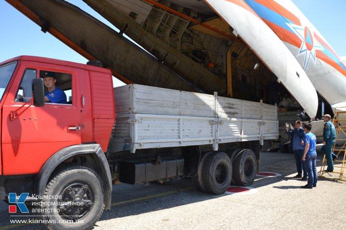 В Крым прибыла новая спецтехника для МЧС