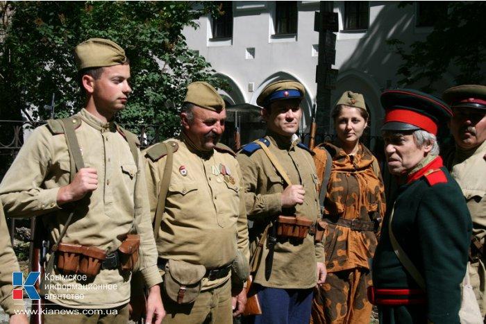 В Симферополе провели военно-историческую реконструкцию