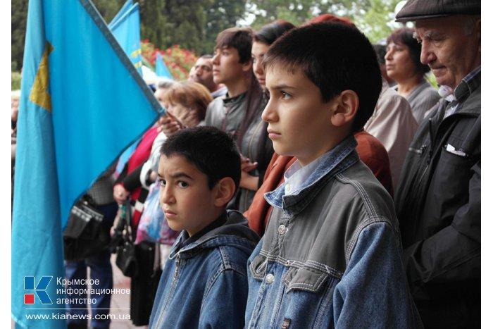 В Ялте почтили память жертв депортации из Крыма