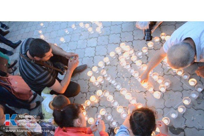 В Феодосии прошла акция «Зажги огонь в сердце своем»