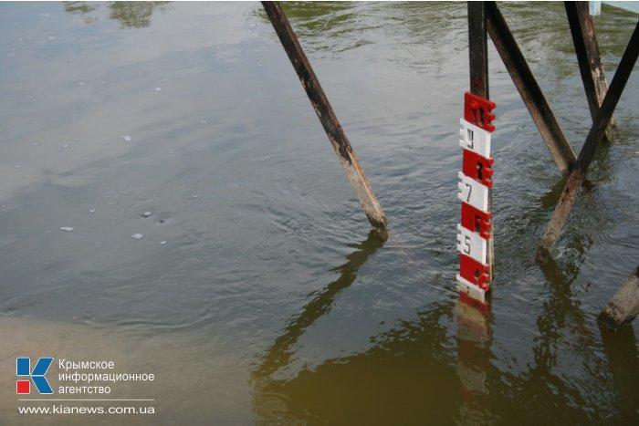 В Феодосийское водохранилище начали закачивать воду