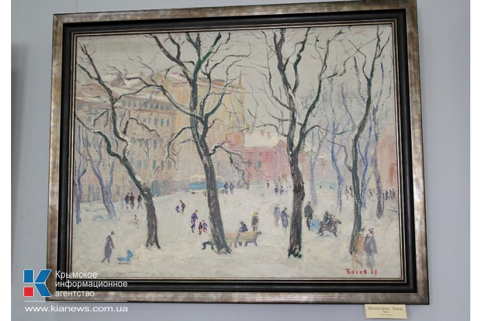 В Воронцовском дворце открылась выставка Якова Басова