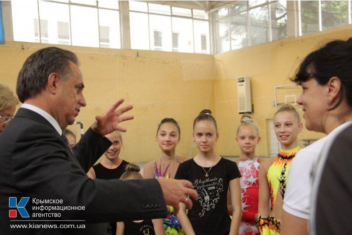 Спортивная инфраструктура Крыма соответствует среднероссийскому уровню