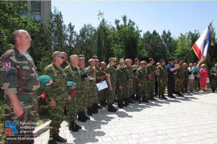 В Бахчисарае открыли памятник пограничникам, погибшим в Афганистане