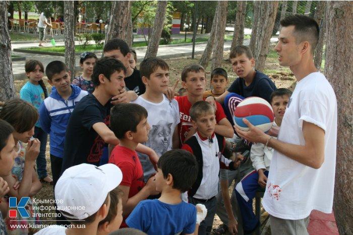 Дети из Чечни прибыли на отдых в Крым